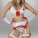 5 Pièces Set de Costume d'infirmière